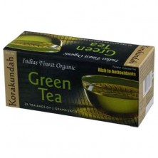 Korakundah Feinster Indischer Green Tea Rich in Anti Oxidants (25 Sachet Bags of 1gm pack)