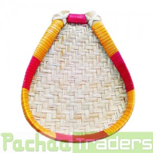 Palm Leaf Muram Solavu Winnowing Basket (SIZE: SMALL)