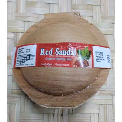 Red Sandal Soap 100gm (செம்மர சோப்பு)