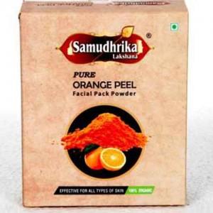 Samudhrika Pure Organic Orange Peel Powder 100g
