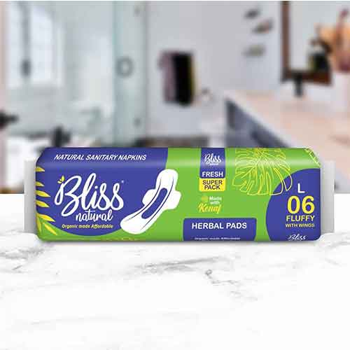 Bliss Pad Fluffy L (Pack of 6)