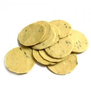 Pepper Ulundhu Coin Appalam (மிளகு உளுந்து காயின் அப்பளம்)