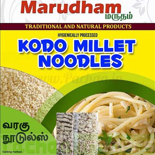 Kodo Millet Noodles 175g - Varagu (வரகு)