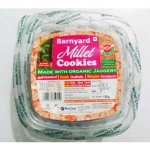 Barnyard Millet (Kuthiravaali Jhangora Odalu) Organic Jaggery Cookies 150g