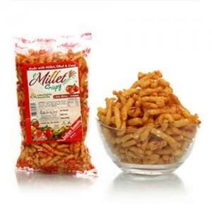 Millet Crispy Snacks - Indian Tomato 55g