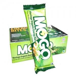 Mogo Moringa Organic Energy Bar (Pack of 10 Bars)