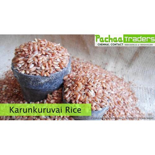 Karunkuruvai Rice