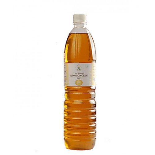 Gingelly Oil Nallennai Cold Pressed 1Ltr (செக்கு நல்ல எண்ணை)
