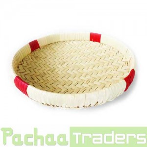 Palm Leaf Round Muram Solavu Winnowing Basket (SIZE: SMALL)