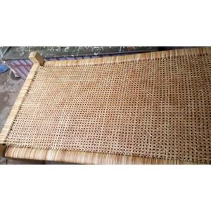 Panai Naar Kattil Palm Leaf Fiber Cot - பனை நார் கட்டில் (With Palm Tree Wood)