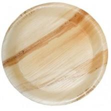 Areca Leaf Disposable Plates (8 Inch) 50 Nos