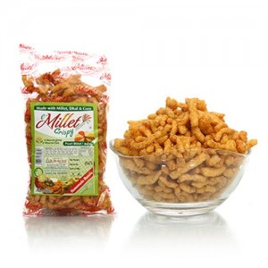 Millet Crispy Snacks - Homemade Masala 55g
