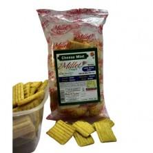 Millet Crispy Snacks - Mint Cheese 55g