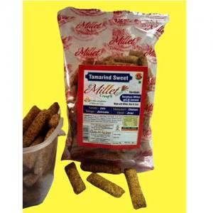 Millet Crispy Snacks - Tamarind 55g